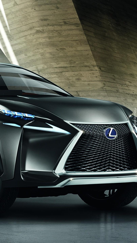 Przód samochodu marki Lexus LF-NX