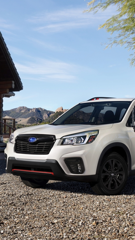 Przód Subaru Forester IV
