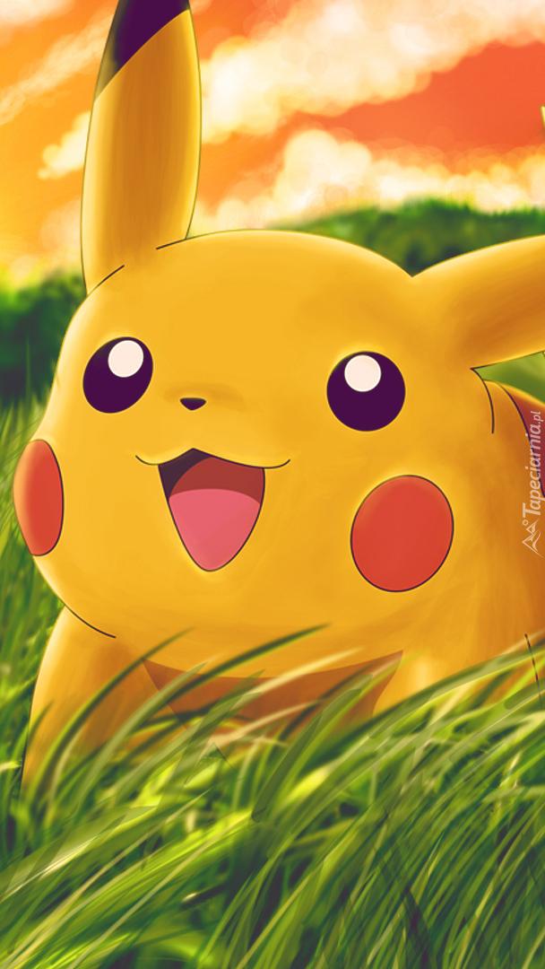 Radosny Pikachu