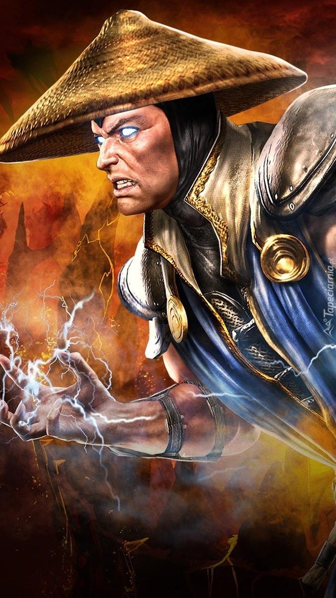 Raiden z gry Mortal Kombat
