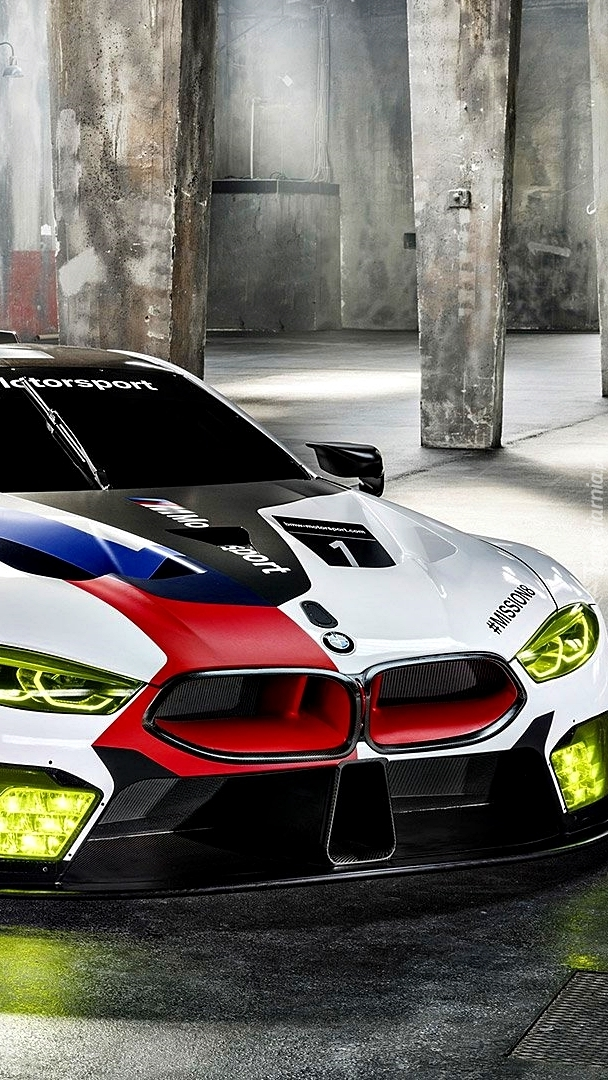Rajdowe BMW M8 GTE 2018
