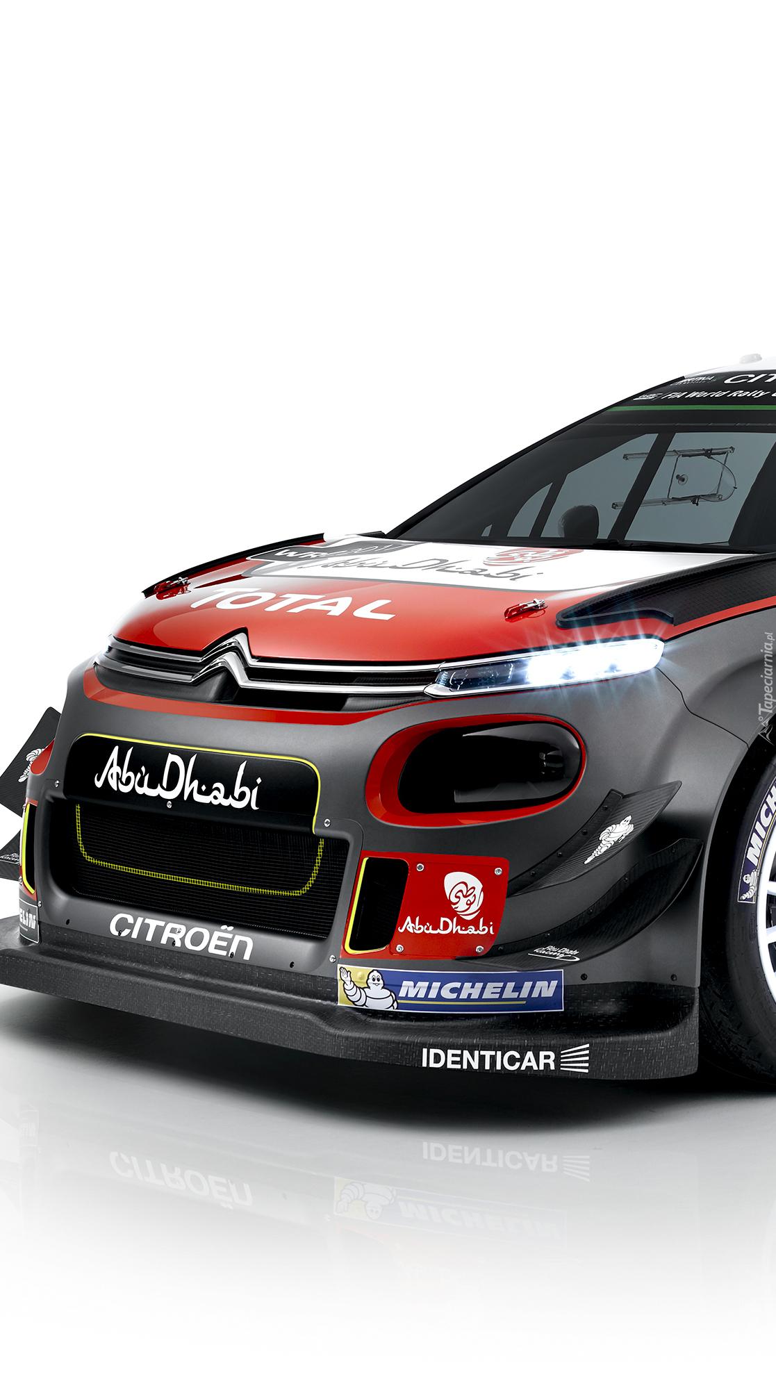 Rajdowy Citroën C3 WRC rocznik 2017