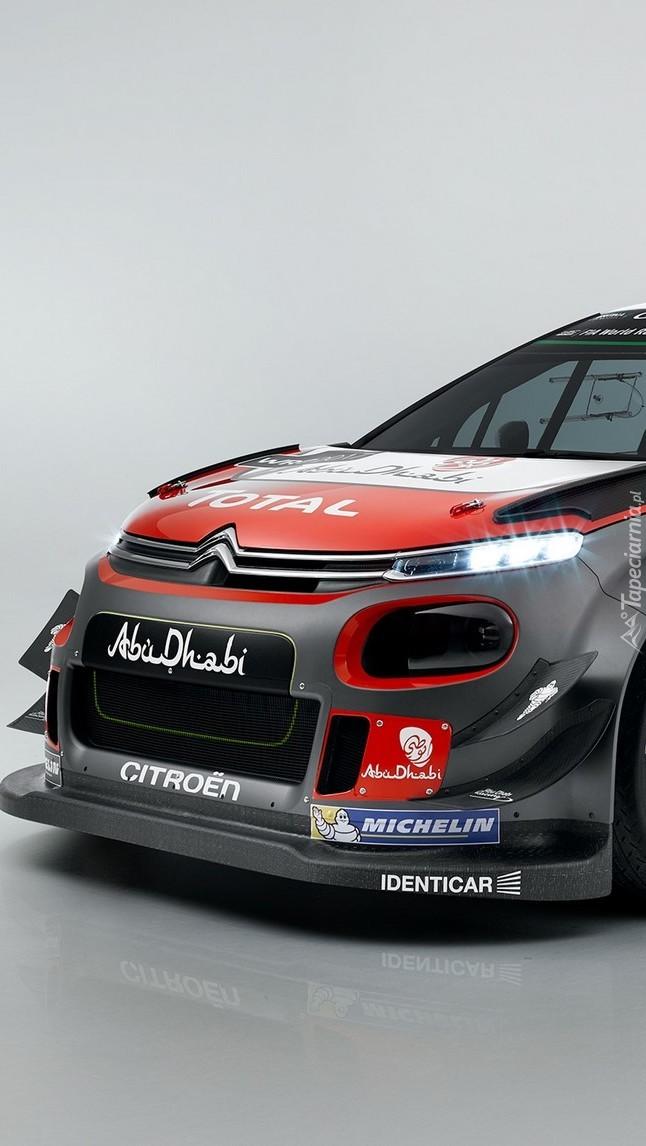 Rajdowy samochód Citroen C3 WRC z 2017 roku