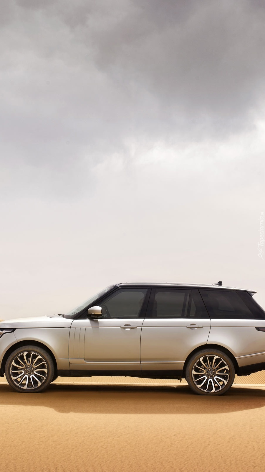 Range Rover bokiem