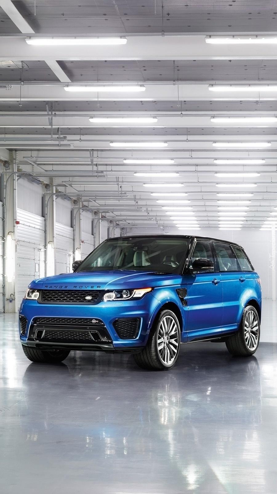 Range Rover SVR Sport w garażu