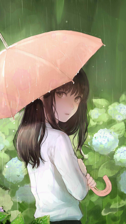Rea Sanka pod parasolem
