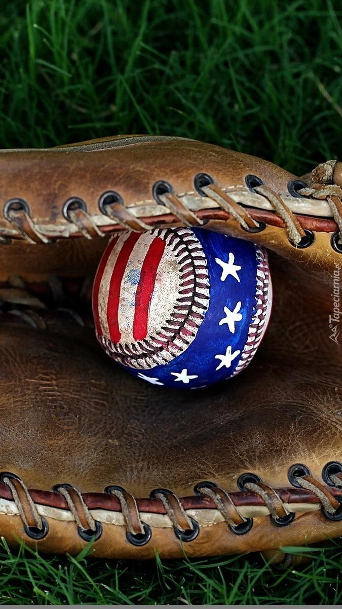 Rękawica i piłka do baseballa