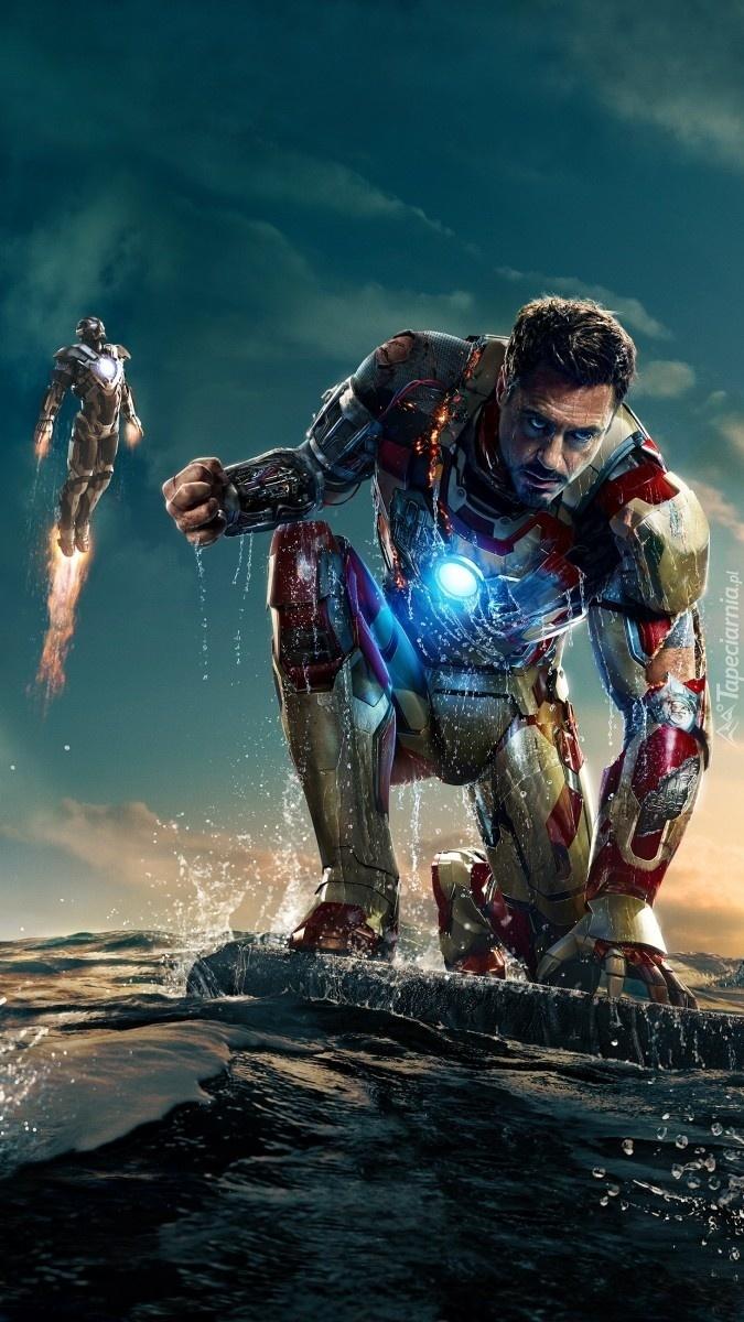 Robert Downey Jr. z  Iron Man 3