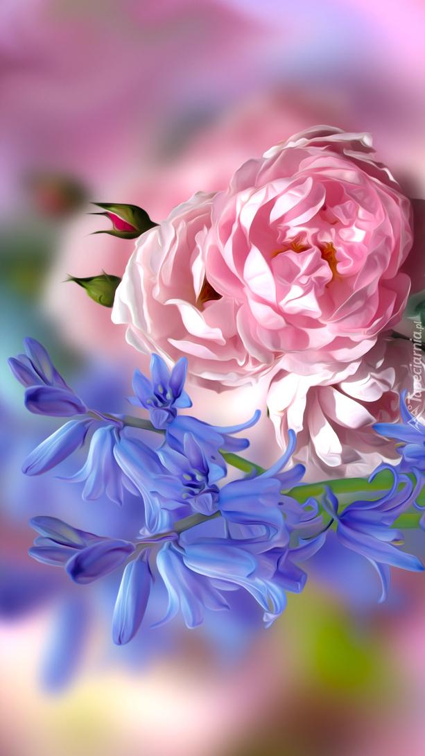 Róże i dzwonki