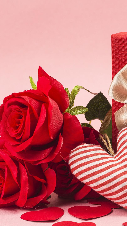 Róże i pasiaste serce