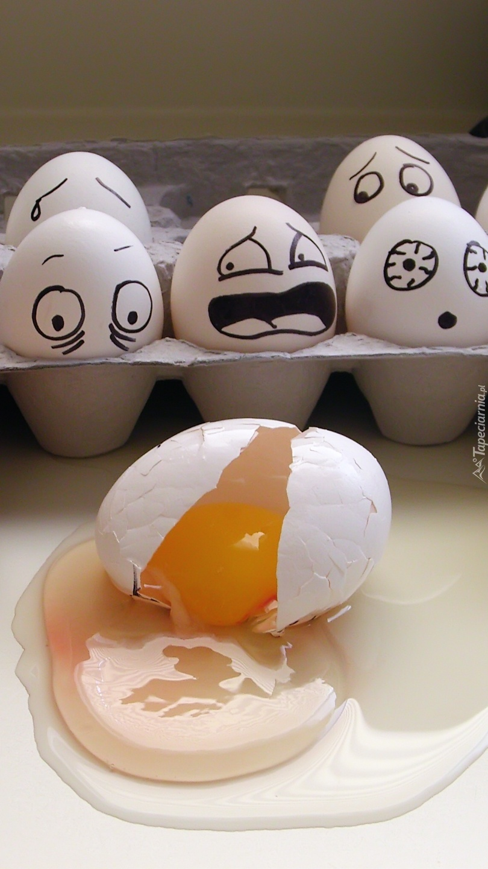 Roztrzęsione jajka