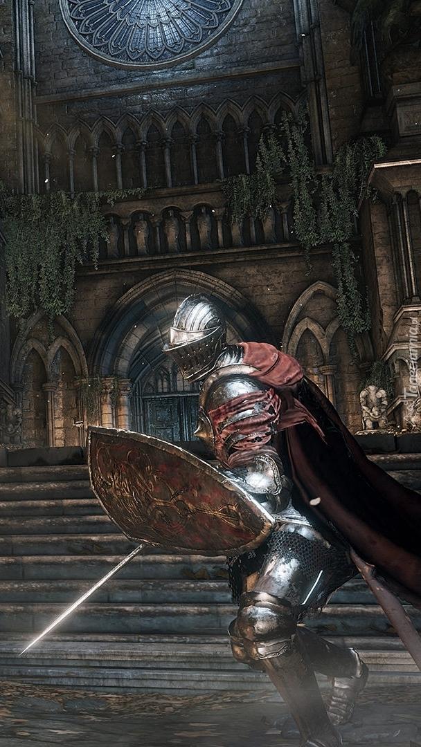 Rycerz z Dark Souls 3
