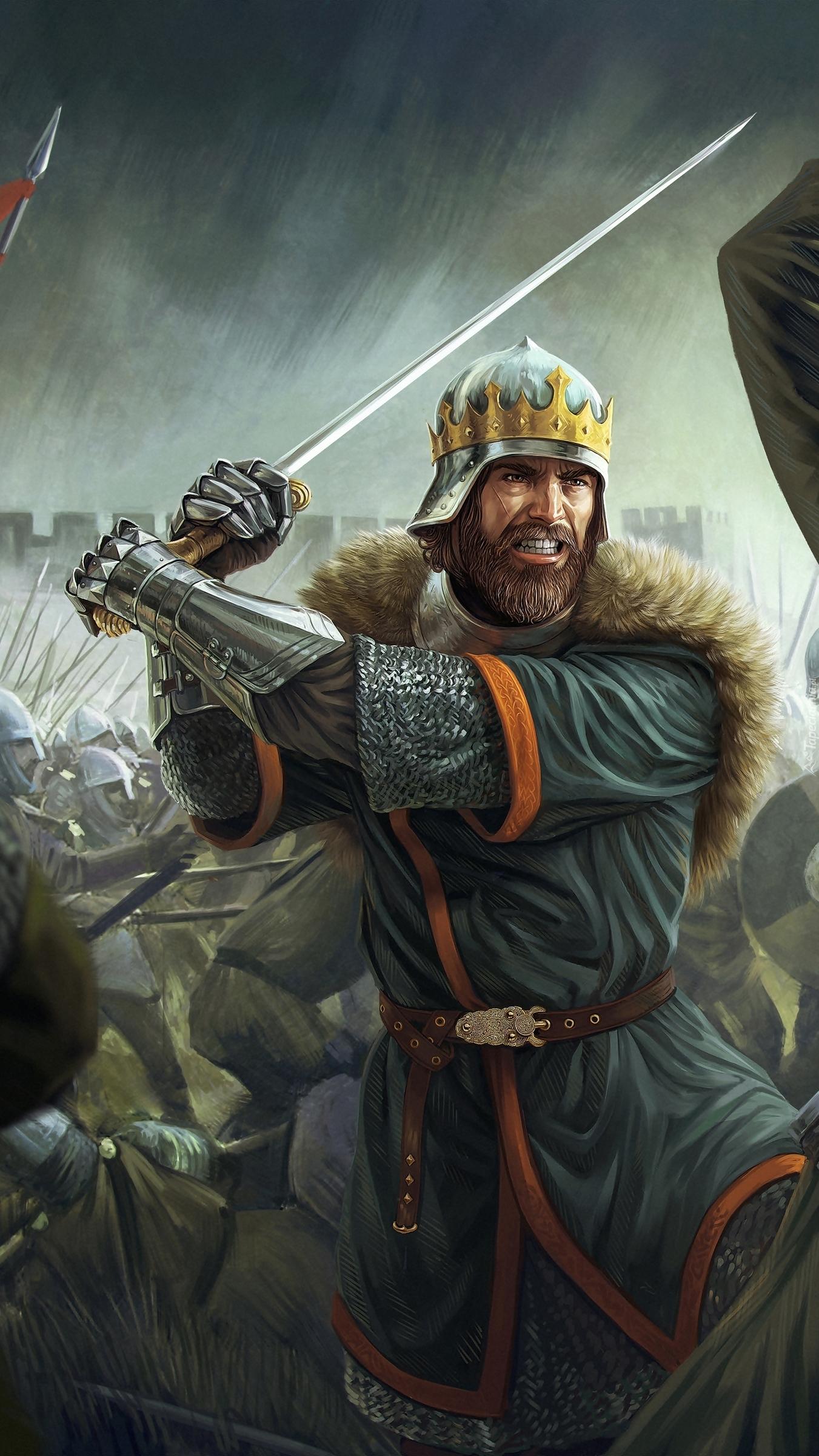 Rycerz z mieczem z gry Total War Battles Kingdom
