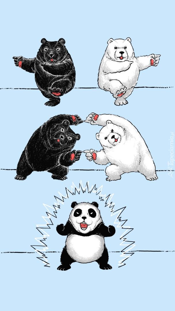 Rysunek niedźwiadków