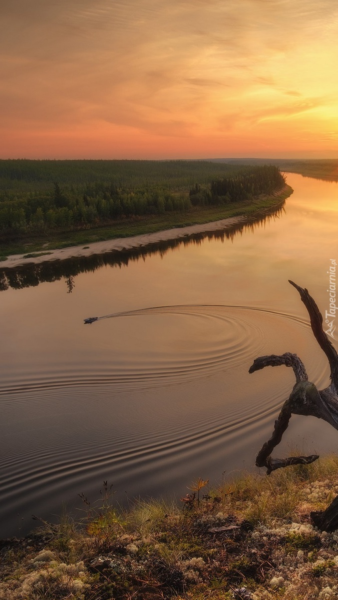 Rzeka Dolna Tunguzka