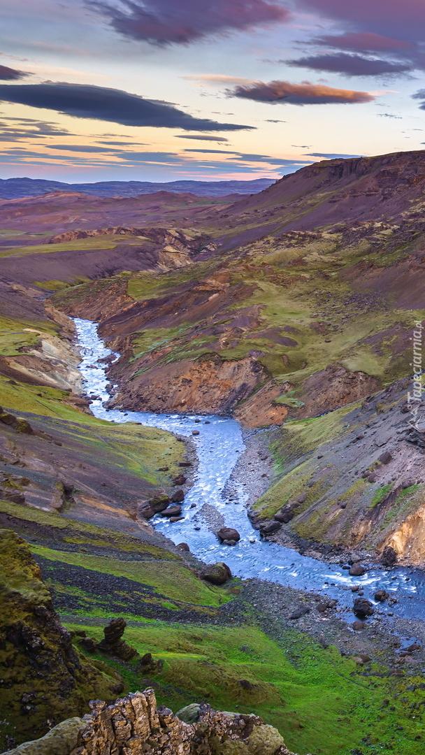 Rzeka Fossa w Islandii