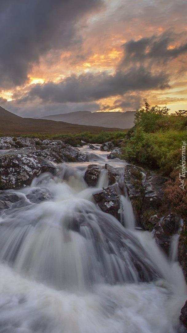 Rzeka River Coupall w Szkocji