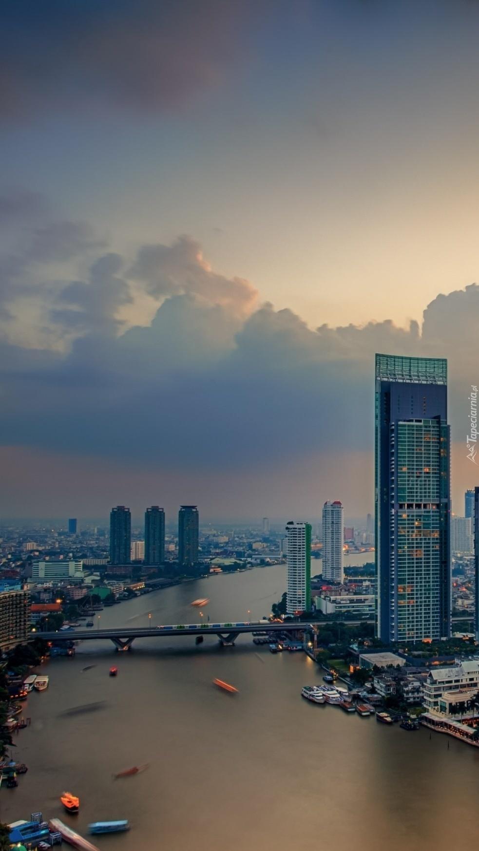 Rzeka w Bangkoku