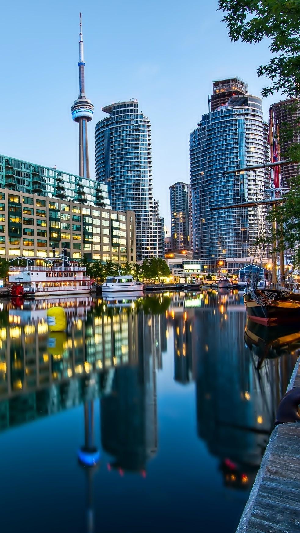 Rzeka w Toronto