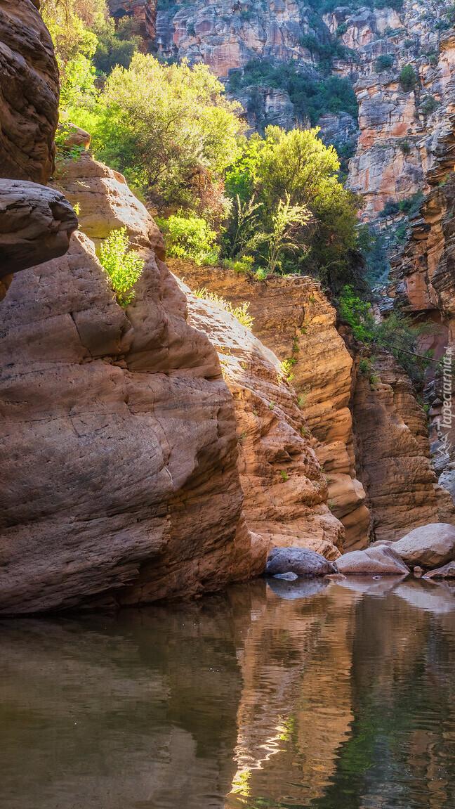 Rzeka West Clear Creek w Arizonie