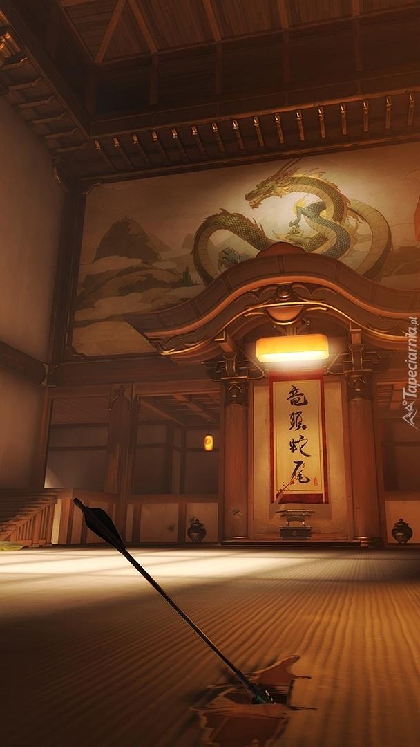 Sala ćwiczeń Hanamura Dojo