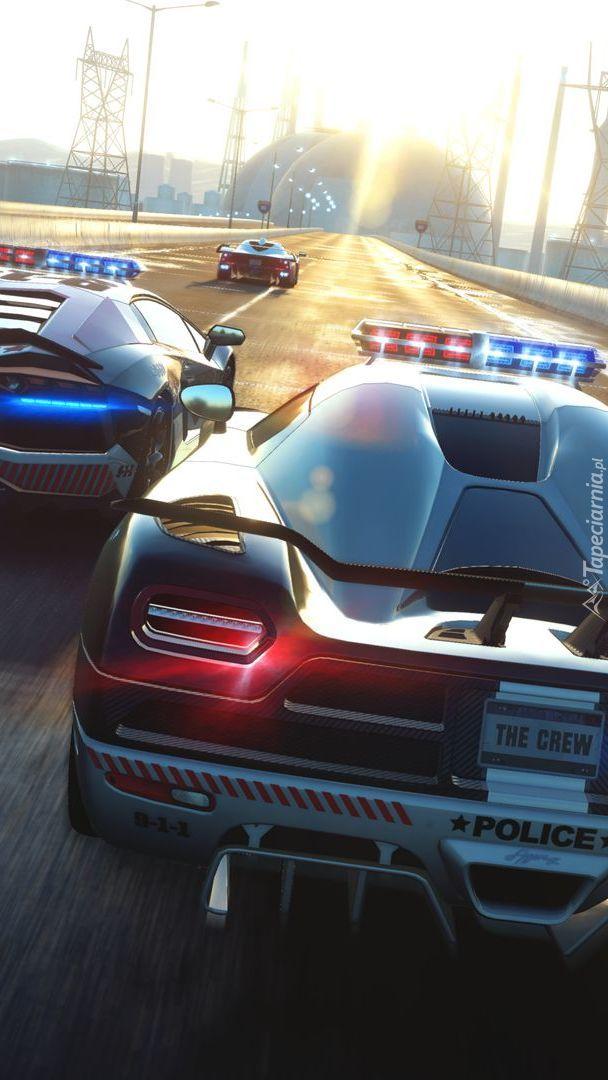 Samochody policyjne z gry The Crew