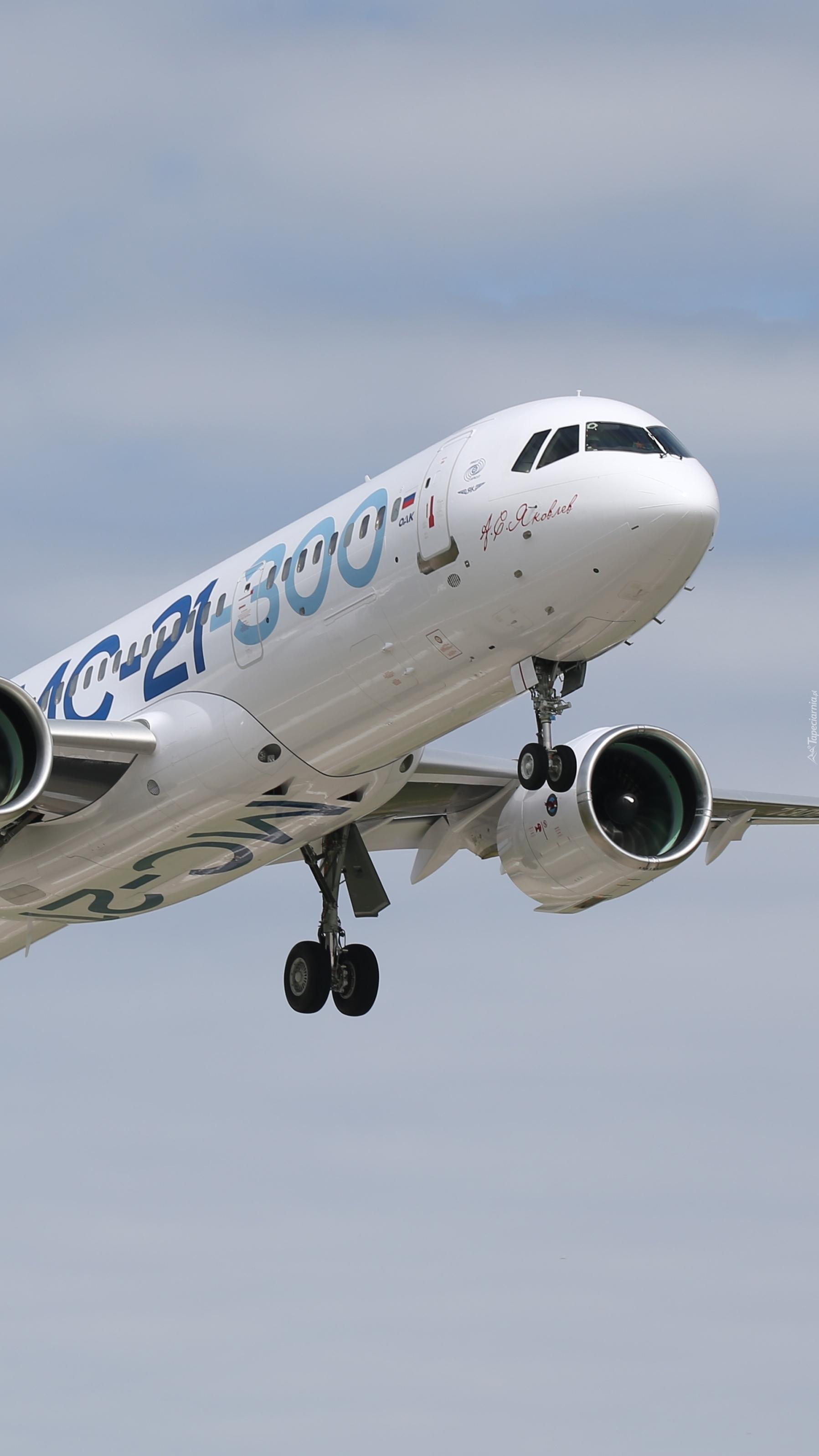 Samolot pasażerski Irkut MS-21-300