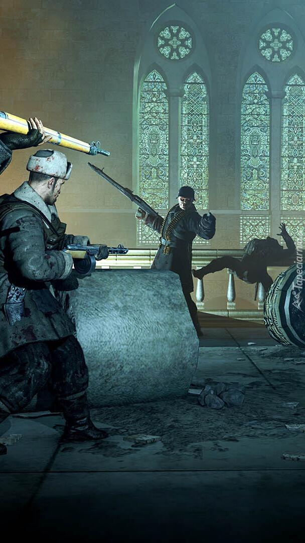 Scena z gry Zombie Army Trilogy