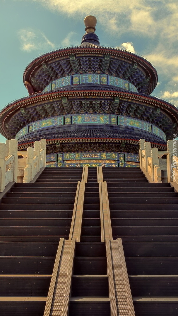 Schody do świątyni