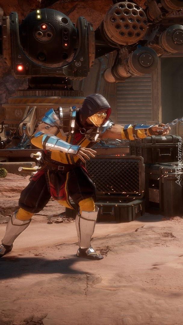 Scorpion z Mortal Kombat 11