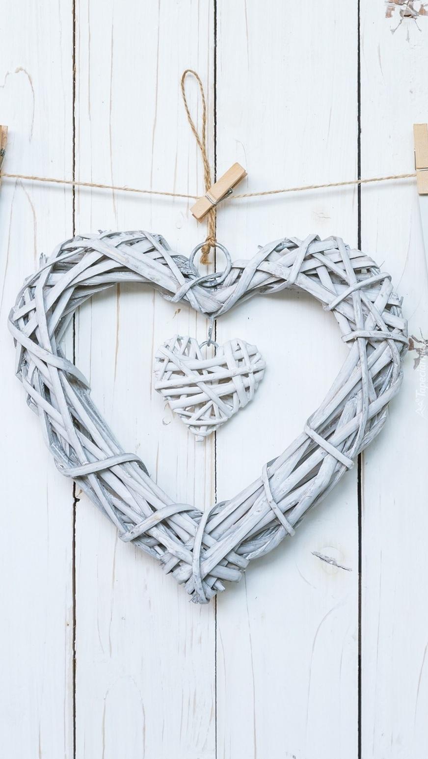 Serca na sznurku