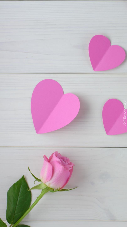 Serca nad różą