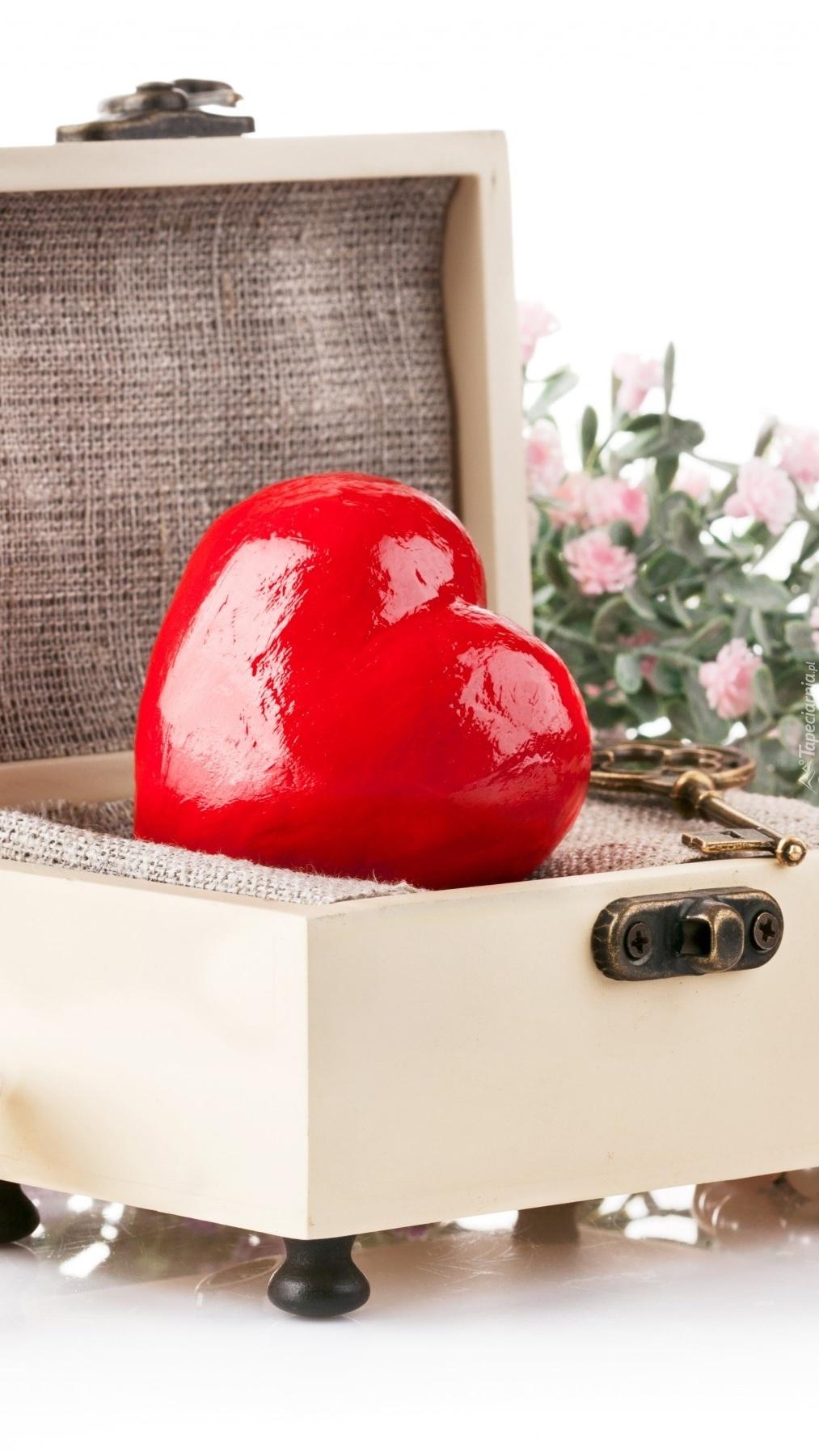 Serce w kuferku