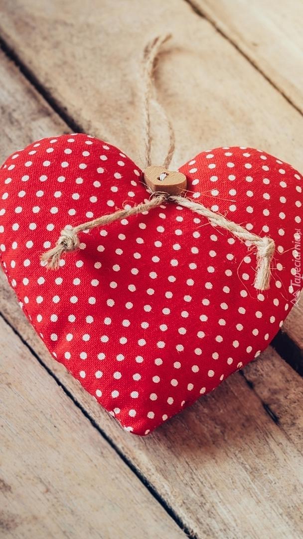 Serce z guziczkiem
