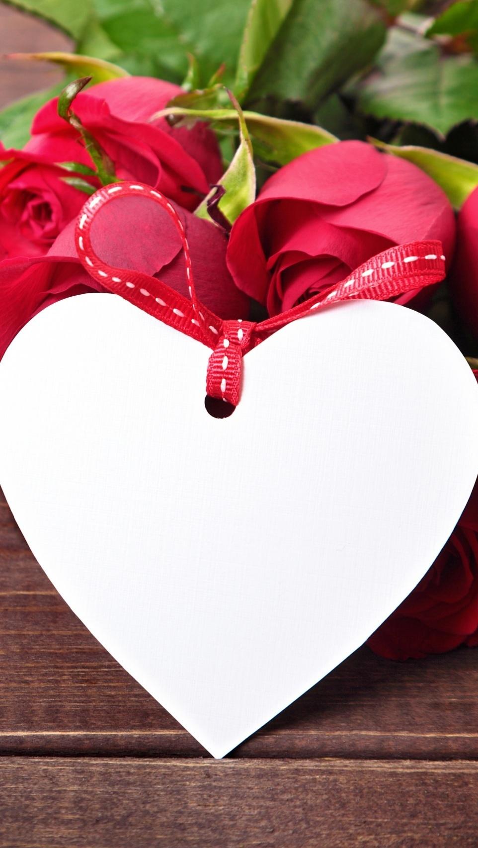 Serce ze wstążką