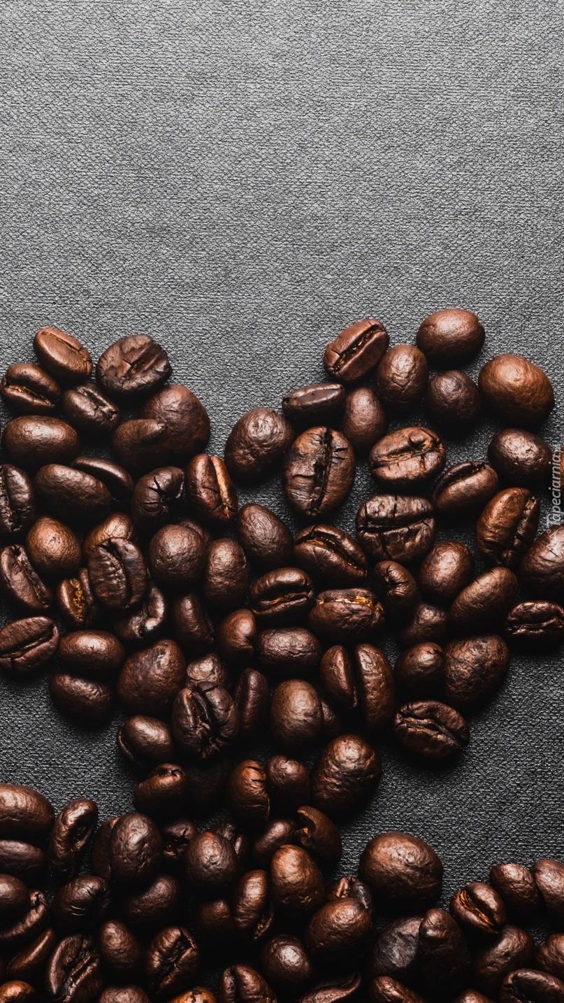Serduszko z ziarenek kawy