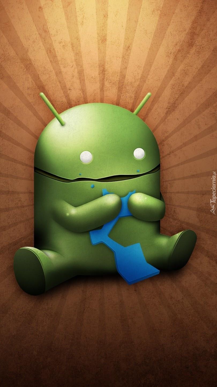 Siedzący android