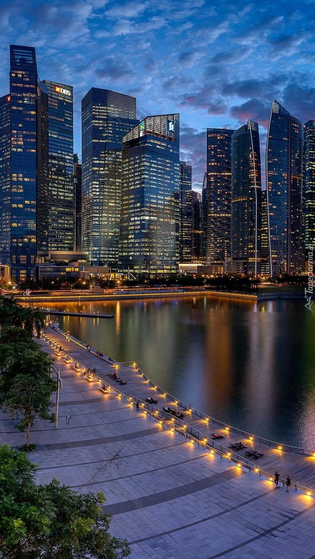 Singapur budzący się ze snu