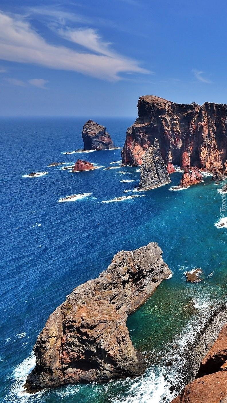 Skaliste wybrzeże Portugalii