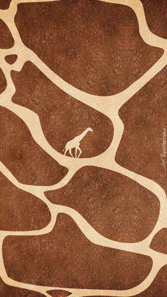 Skóra żyrafy w grafice
