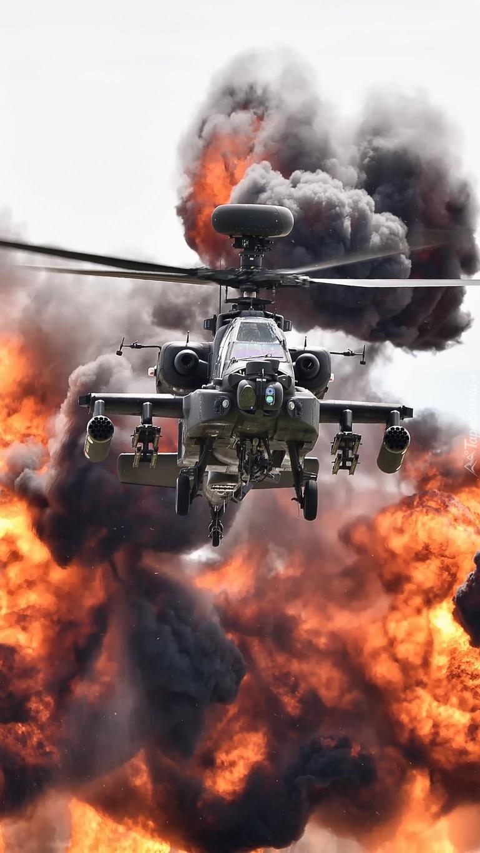 Śmigłowiec szturmowy Bell AH-1 Cobra w akcji