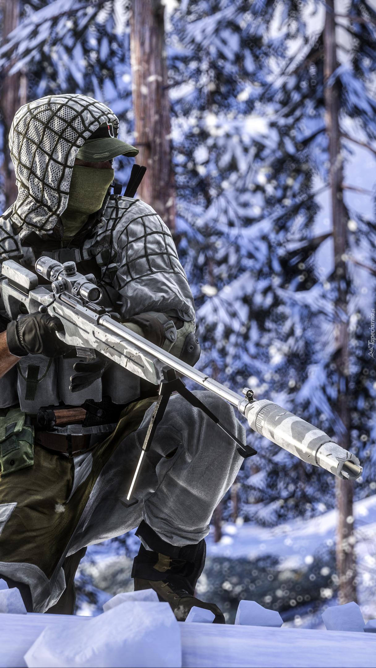 Snajper z gry Battlefield 4