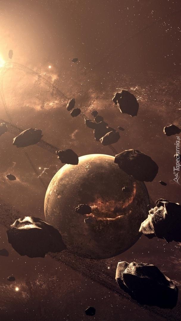 Spadające meteoryty