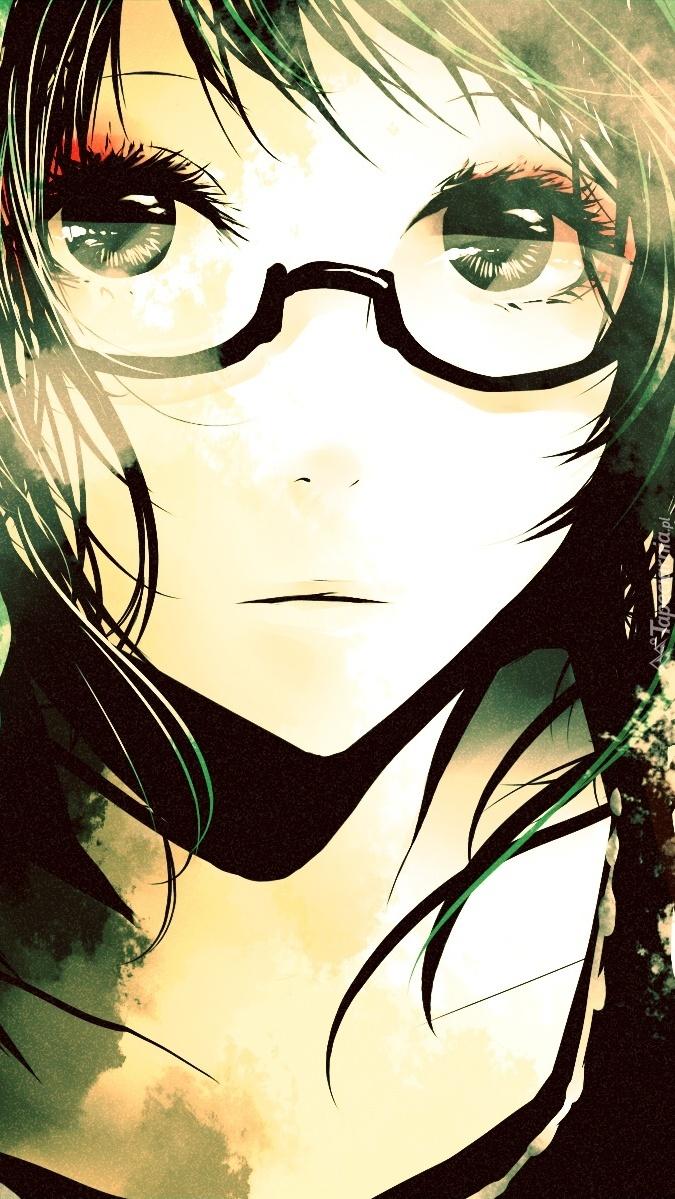 Spojrzenie okularnicy