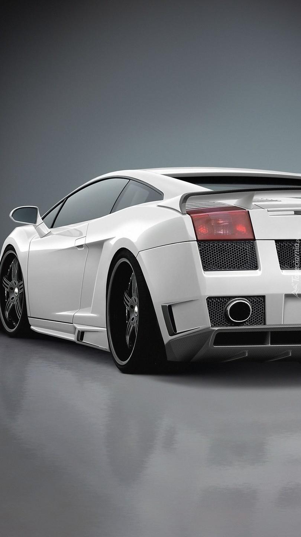 Sportowe Lamborghini Gallardo tyłem