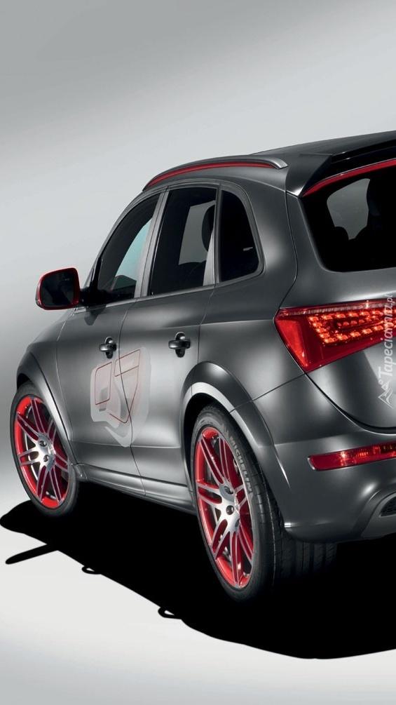 Srebne Audi Q5