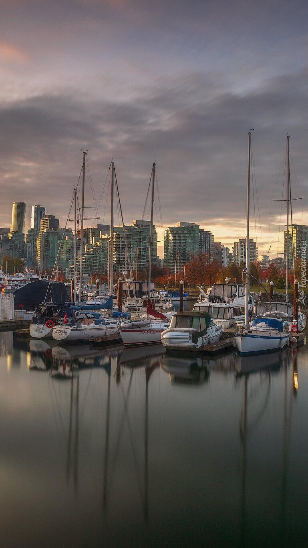 Stanley Park Marina w Vancouver