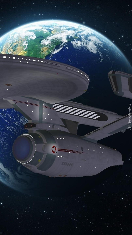 Statek kosmiczny z serialu Star Trek