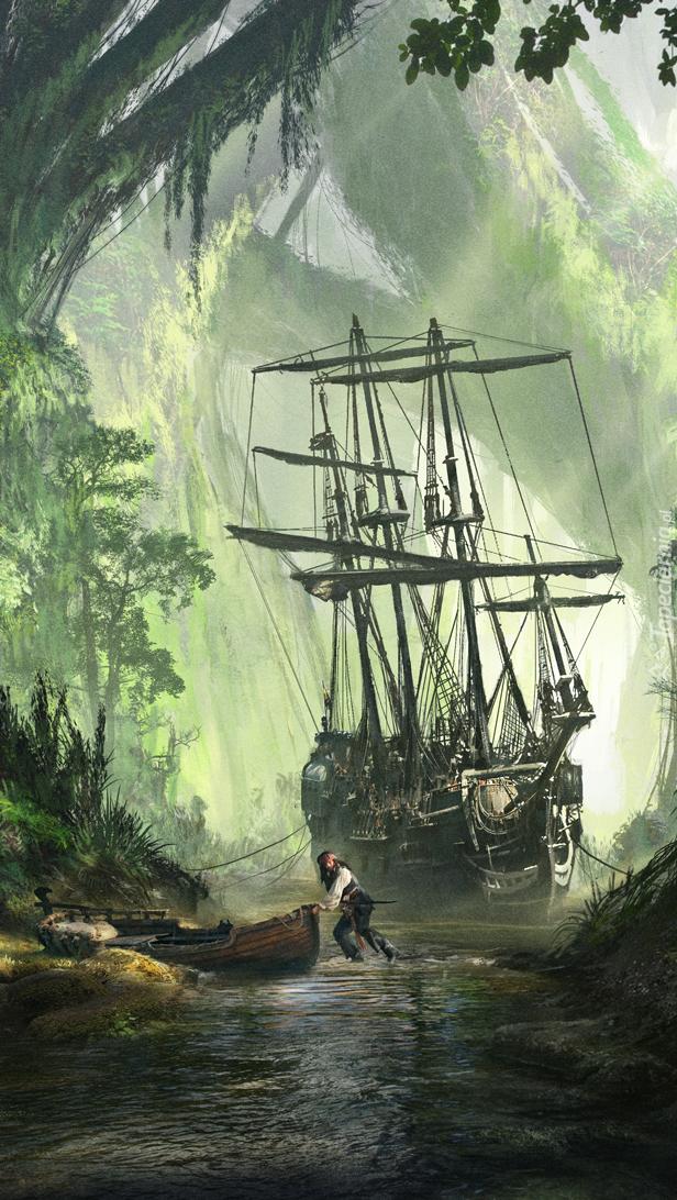 Statek piracki dopłynął do celu