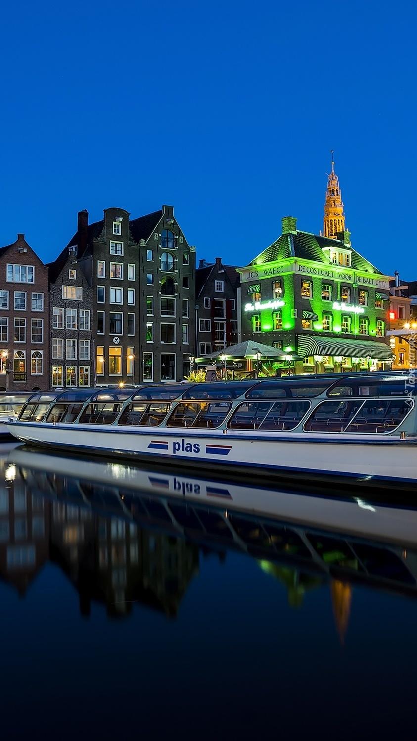 Statek w Amsterdamie